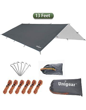 Ineibo Hammock Rain Fly Tent Tarp 4x3m Lightweight Waterproof Hex Camping Tar... Sporting Goods