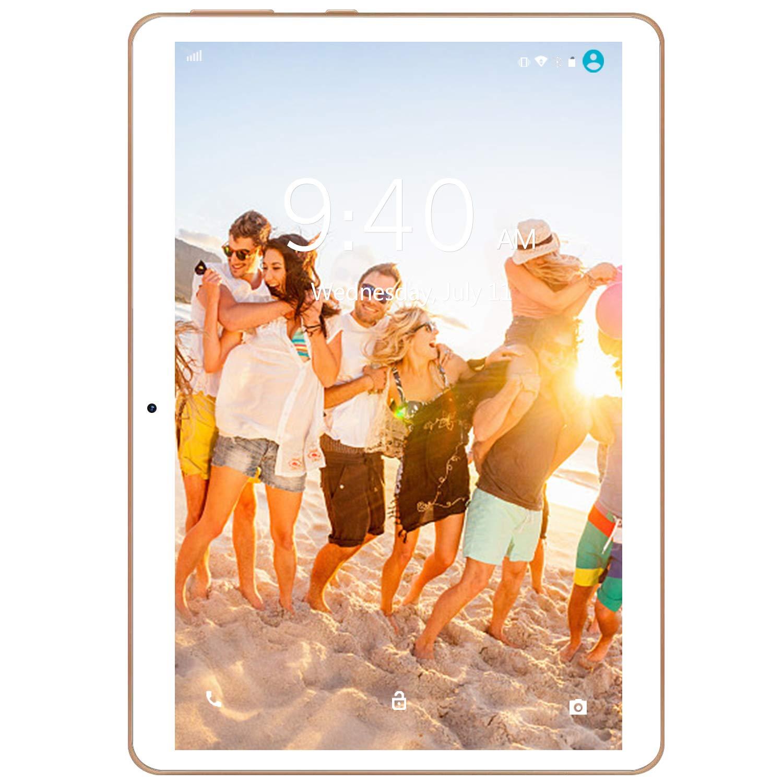 Type-c Bianco 4 GB RAM 4G LTE Tablet con Display 10 YOTOPT Android 9.0 Tablet PC 64 GB Espandibili GPS WIFI