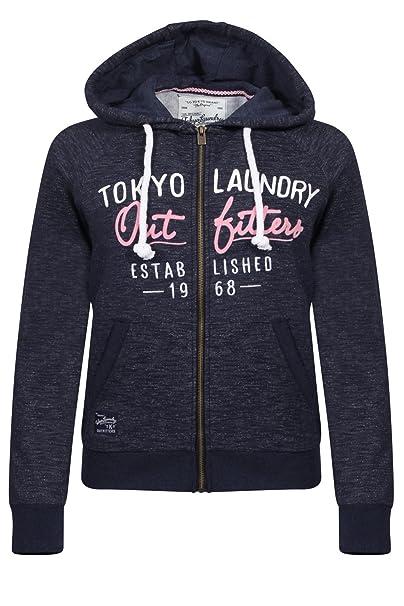 Tokyo Laundry Sudadera con Capucha suéter para Mujer