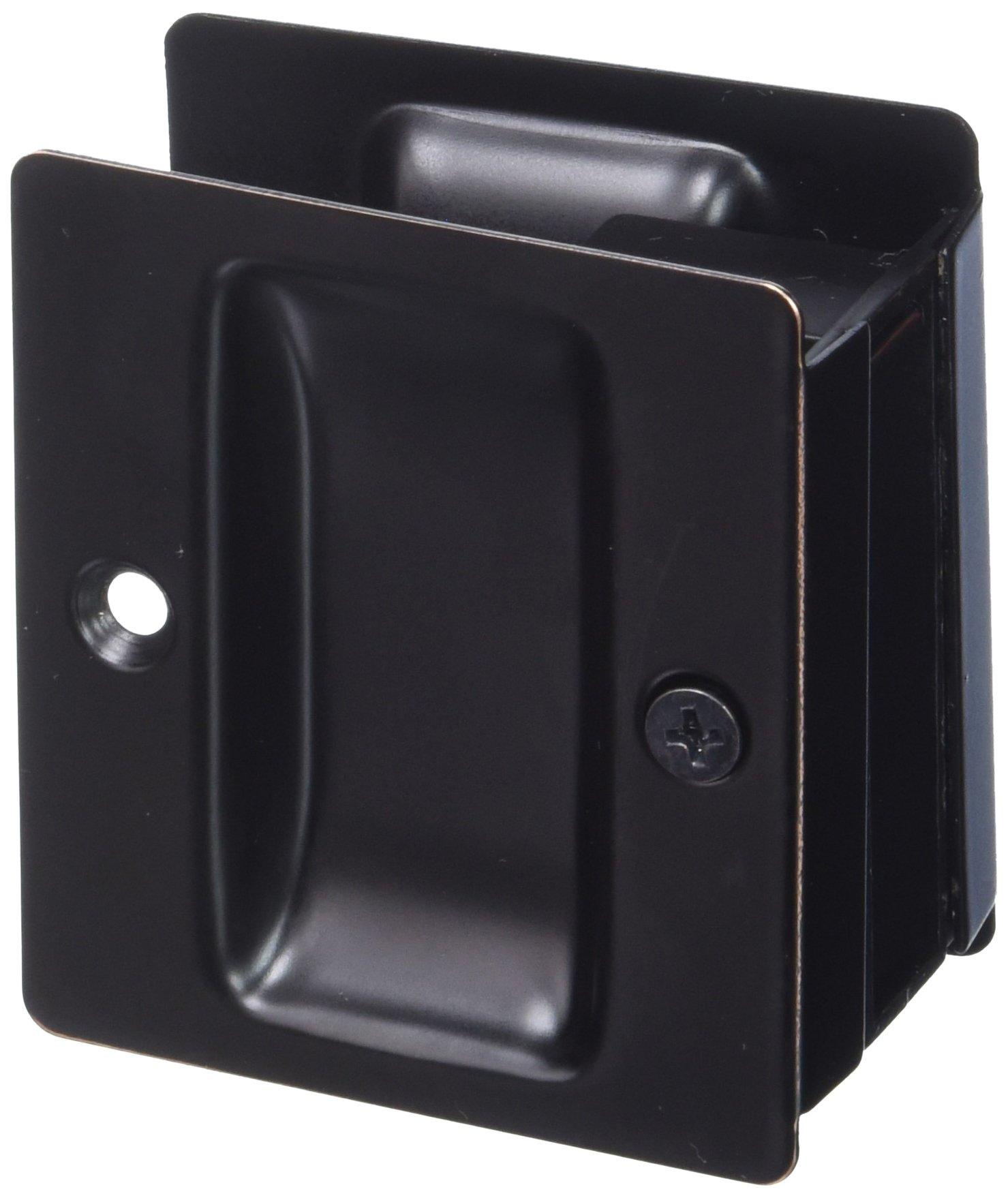 Weslock Weslock 00527X1X1 Pocket Door, Oil-Rubbed Bronze