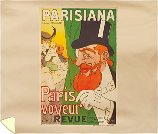 104 x 88 104 x 88 Kess InHouse Kess Original Paris King Cotton Duvet Cover