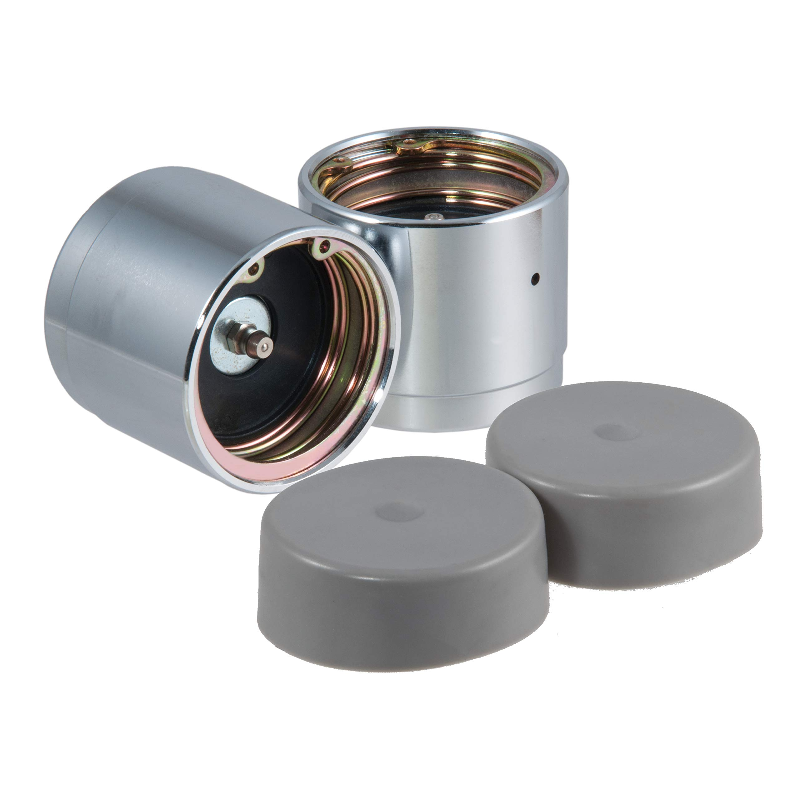CURT 22232 2.32-Inch Bearing Protectors and Dust Covers, 2-Pack