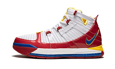 newest 1a906 69129 Amazon.com | Zoom Lebron 3 Qs (White/Varsity Red, 6 ...