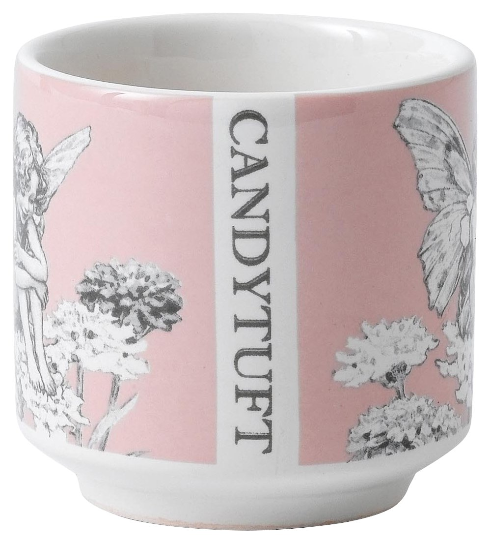 Flower Fairies A28449 Pink Fairy Candy Tuft Egg Cup Set 2
