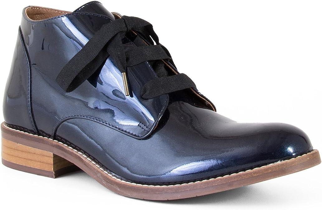 Esska Shoes , Damen Chukka Boots, blau Navy Größe: 37.5