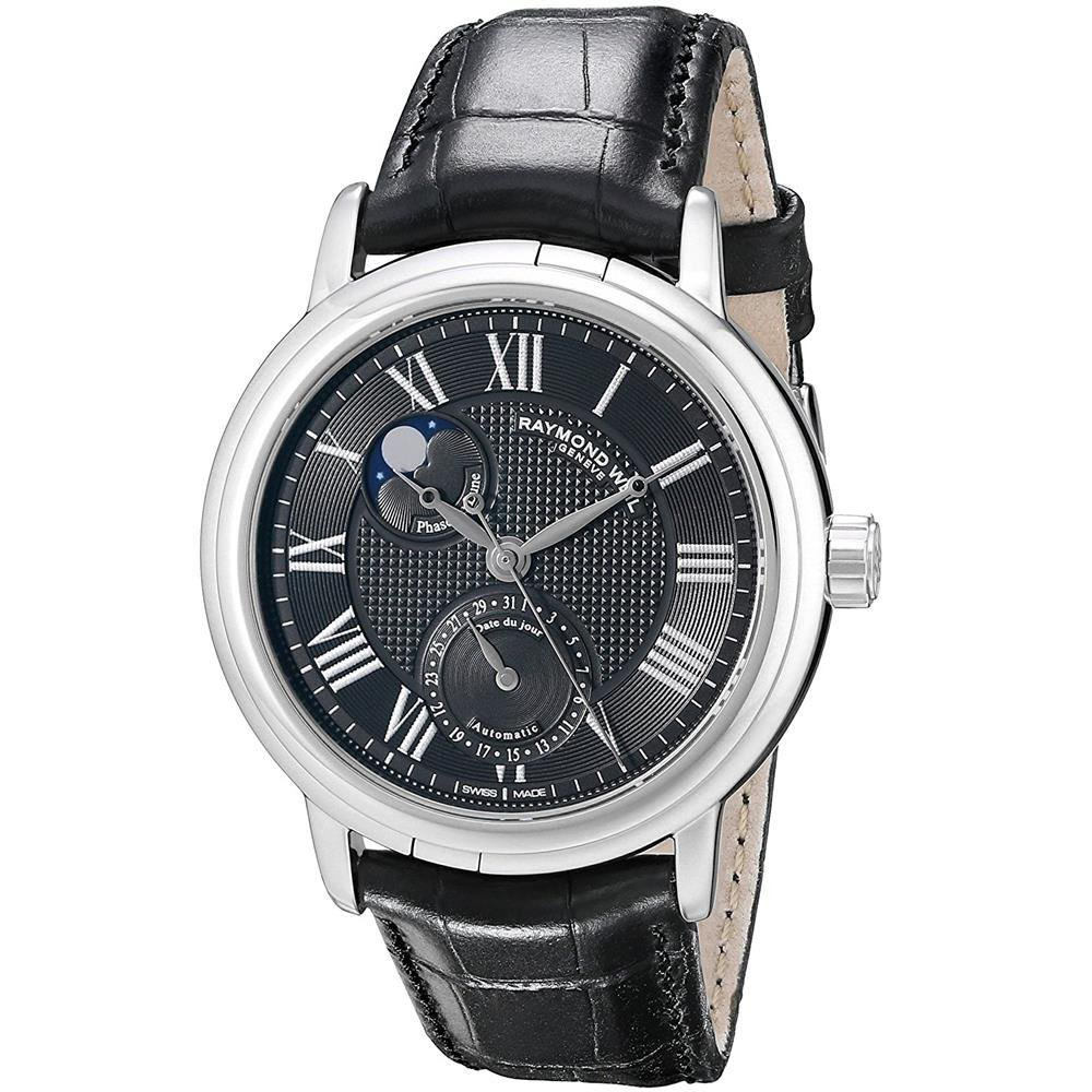 Raymond Weil Men s 2839-Stc-00209 Moon Face Automatic Date Watch