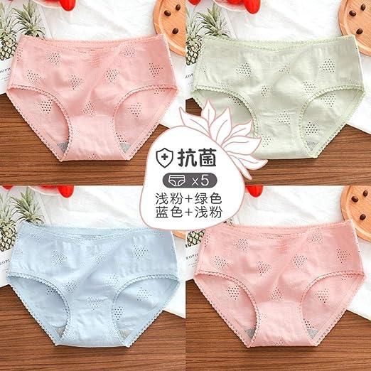 balalSY Ropa Interior para Mujer 100% algodón Antibacterial ...