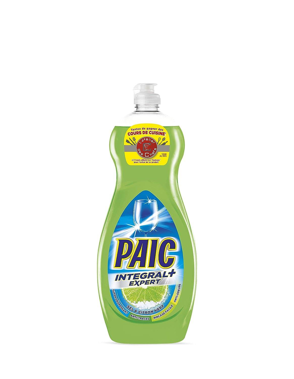 Paic Integral+ Expert - Líquido para vajilla (750 ml, 4 unidades ...
