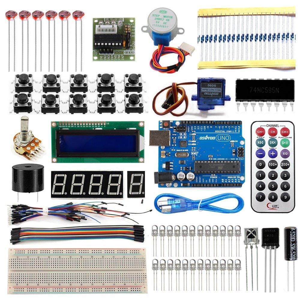 Arduinoをはじめよう 互換キット UNO R3対応互換ボード 初心者専用実験キット