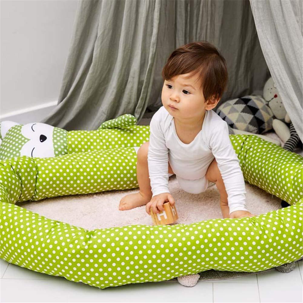 TODAYTOP Toddle Baby Crib Bedding Bumper Free-Combination 6 Pieces Cotton Crib Bumpers Crib Liner Baby Cot Bumper Nursery Wrap Around Protection Luxury Bedding