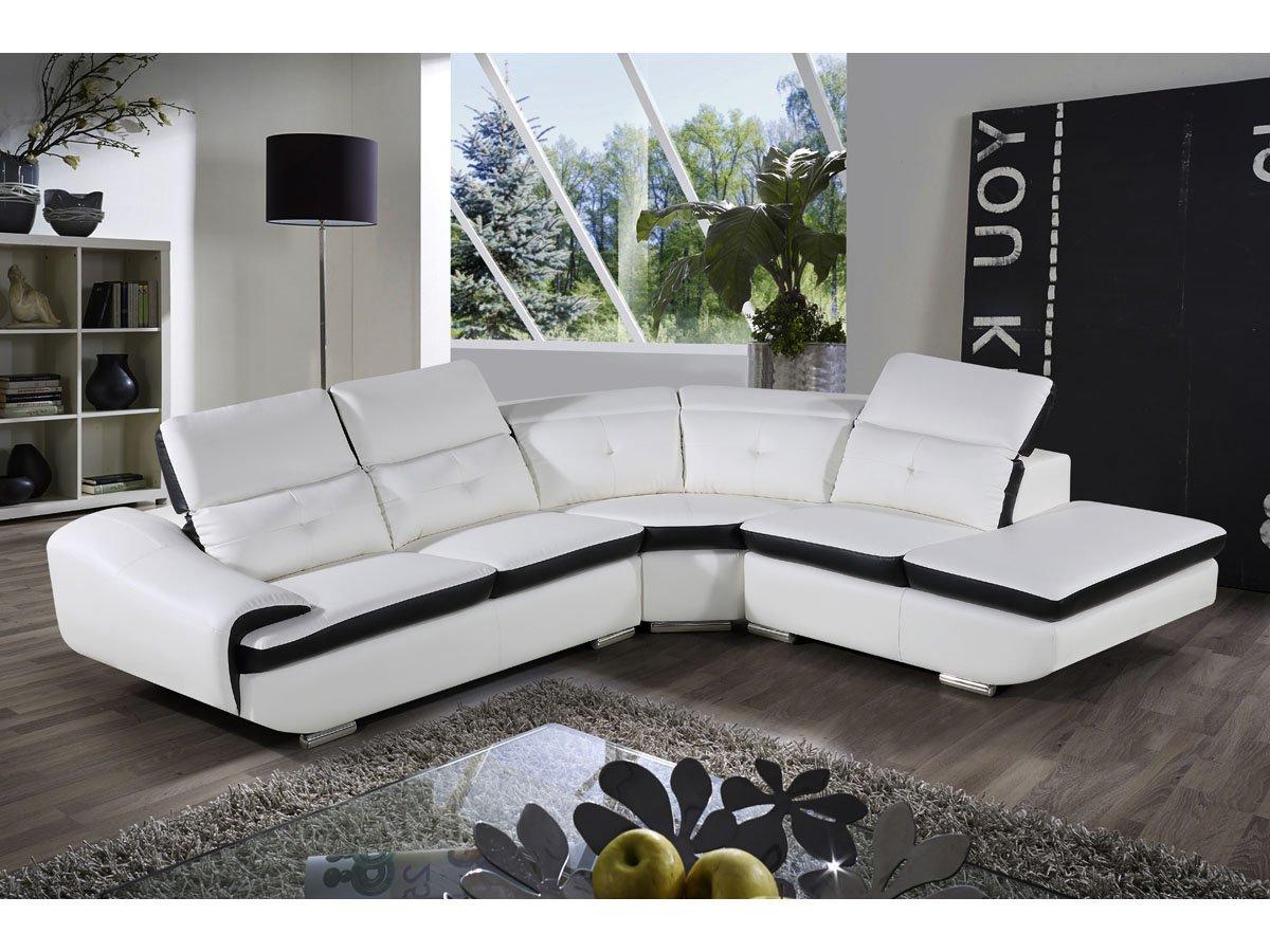 Habitat Et Jardin Montreal Reclaimed Leather Pvc Corner Sofa 5