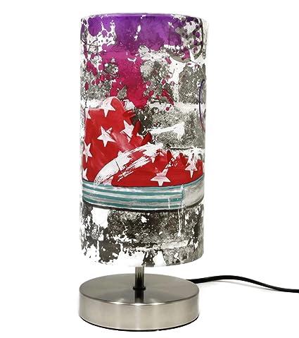 Graffiti - Lámpara de mesa, para dormitorio, dormitorio ...