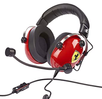 Amazon com: T Racing Scuderia Ferrari Edition headset: Video