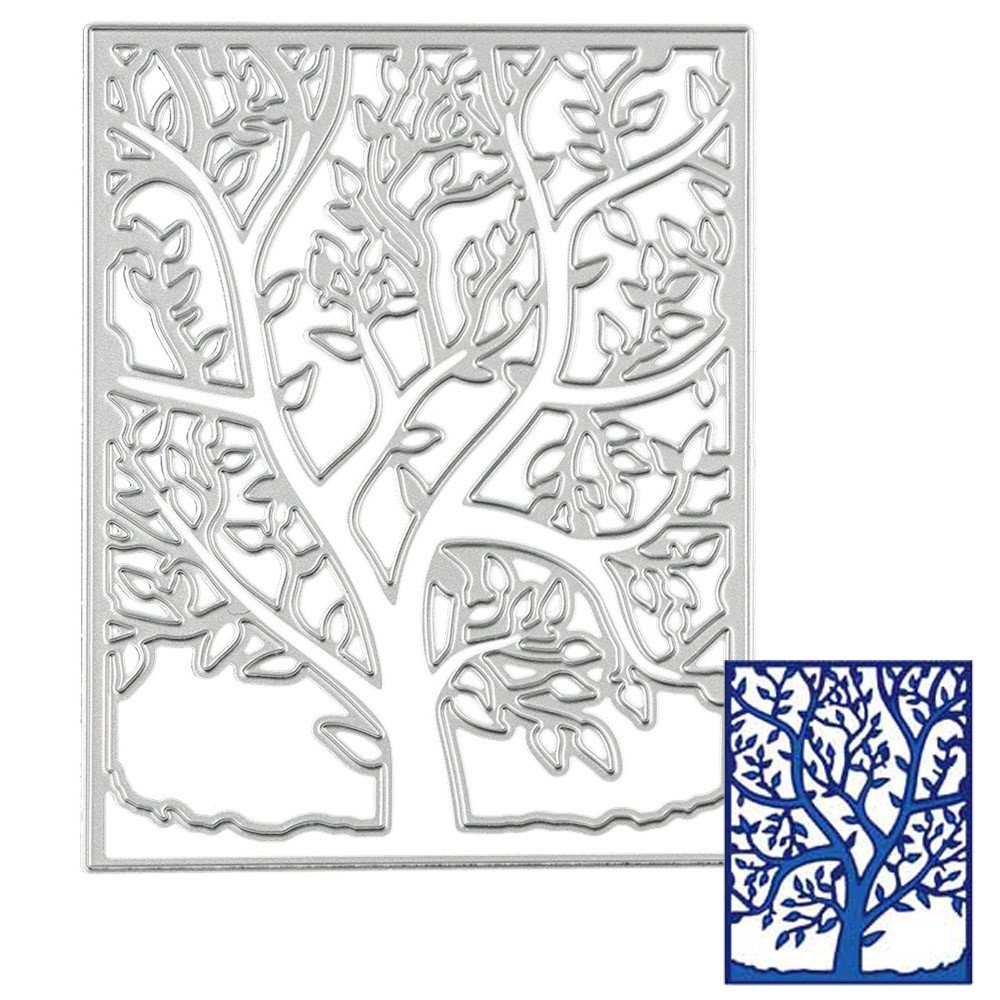 Kanpola Metal Cutting Dies Stencil DIY Scrapbooking Embossing Album Paper Card Craft Bdie Cut Cutting Machine Craft Dies for Card Making cuts