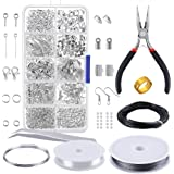PP OPOUNT OP-0068 OPount Jewelry Findings Set Jewelry Making Kit Jewelry Findings Starter Kit Jewelry Beading Making and…