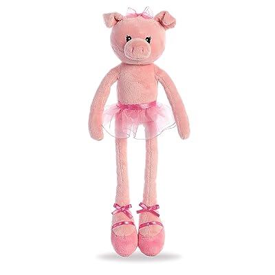 """Aurora - Easter Item - 14"""" Tulip Ballerina Pig: Toys & Games"""