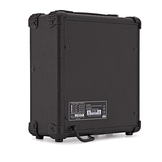 Amplificador de Guitarra Eléctrica de 15W de Gear4music: Amazon.es: Instrumentos musicales