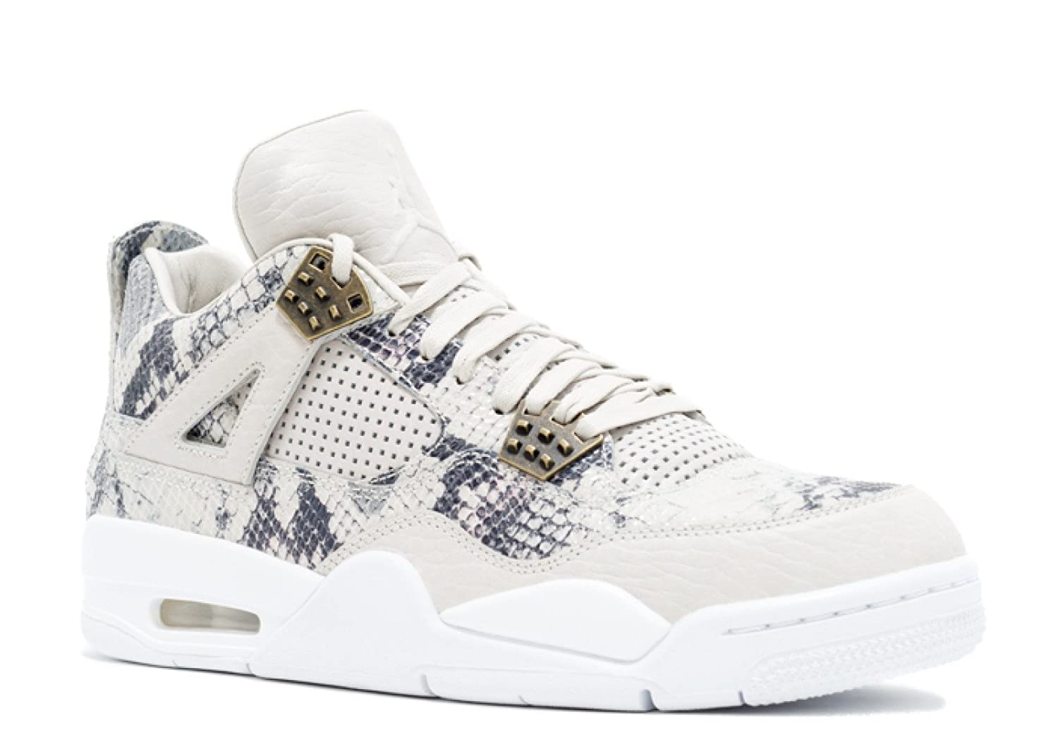 b9d7b0ee8f8 Amazon.com | Air Jordan 4 Retro Premium 'Pinnacle Snakeskin' - 819139-030 -  Size 13.5 | Basketball