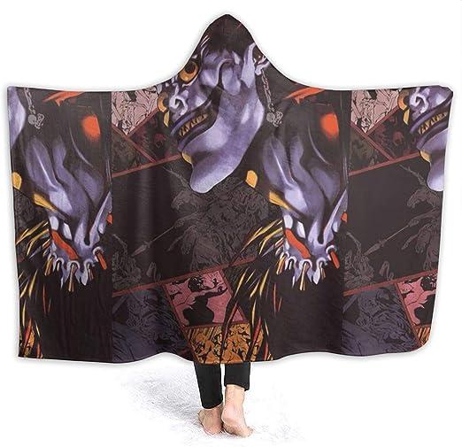 Shinigami Ryuk Death Note Wearable Blankets Lightweight Hooded Blanket Cloak Cosplay