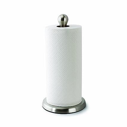 Kitchen towel holder Umbra Umbra Tug Modern Stand Up Paper Towel Holder Easy Onehanded Tear Kitchen Paper Amazoncom Amazoncom Umbra Tug Modern Stand Up Paper Towel Holder Easy One