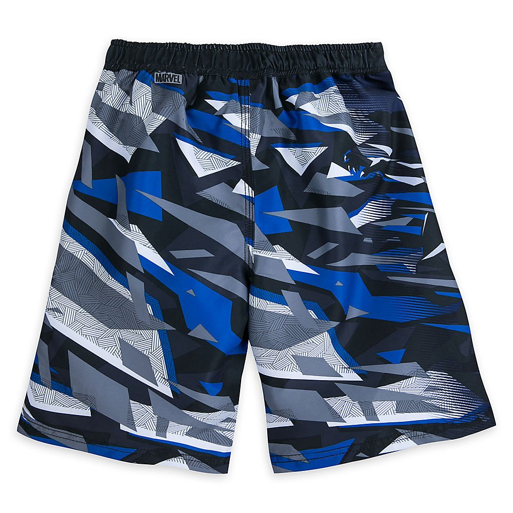 abd15a38ca Marvel Black Panther Swim Trunks For Boys Size 11/12: Amazon.ca: Clothing &  Accessories