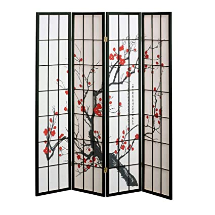 cherry blossom room divider