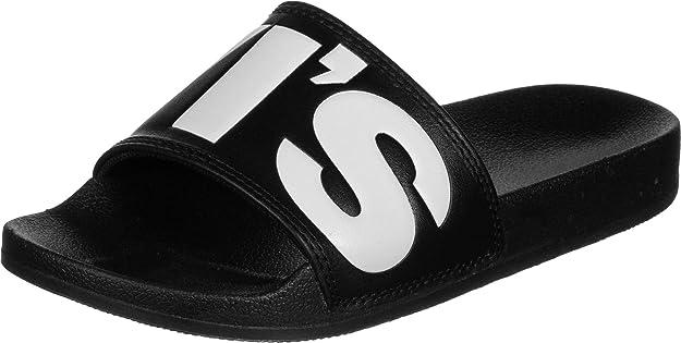 Flip Flop Sandals, Black Regular Black