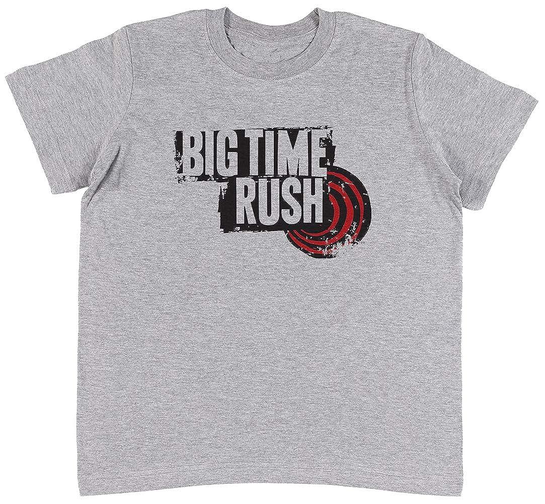 Unisex Kids Grey T-Shirt Jergley Big Time Rush Maglietta Unisex Bambini Grigio Maglietta T-Shirt Ragazzi Ragazze