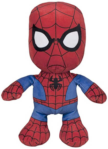 Spiderman- Peluche Floppy, 30 cm, Famosa 760015297