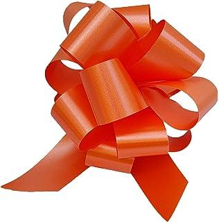 30 lazos de regalo para montar, 10 cm de diámetro, cinta de 3,
