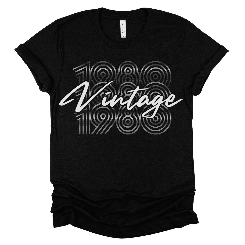 vintage 80s clothing shirt 80s white KK08032 oversized, Vintage shirt elephant ballerina