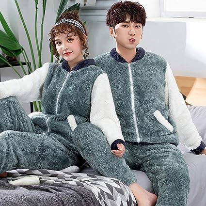 Bayrick Pijama Invierno Mujer Polar,Cute Dibujos Animados con ...