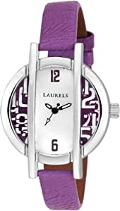 Laurels Women's Dial Synthetic Band Watch - LO-CHL-0505