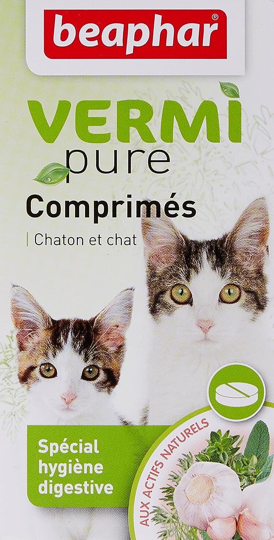 Beaphar - Tabletas antiparasitarias naturales gato, 50 ud: Amazon.es: Productos para mascotas