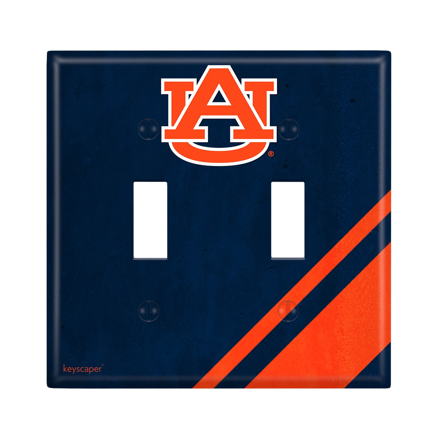 Auburn Tigers Double Toggle Light Switch Cover NCAA