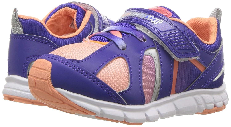 TSUKIHOSHI Girls Rainbow Sneaker 8 M US Toddler M US Toddler Violet//Peach