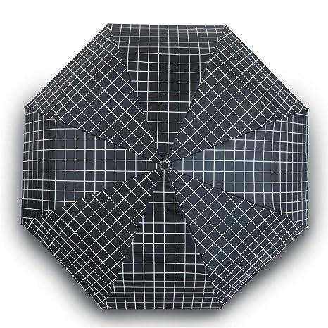 Sombrillas Paraguas Solar Lluvia Y Lluvia Parrilla Plegable ...