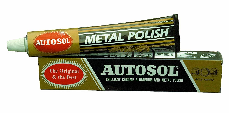 Nú mero Uno cromo Cleaner AUTOSOL metal polaco, 75 ml 75ml Global Accessories