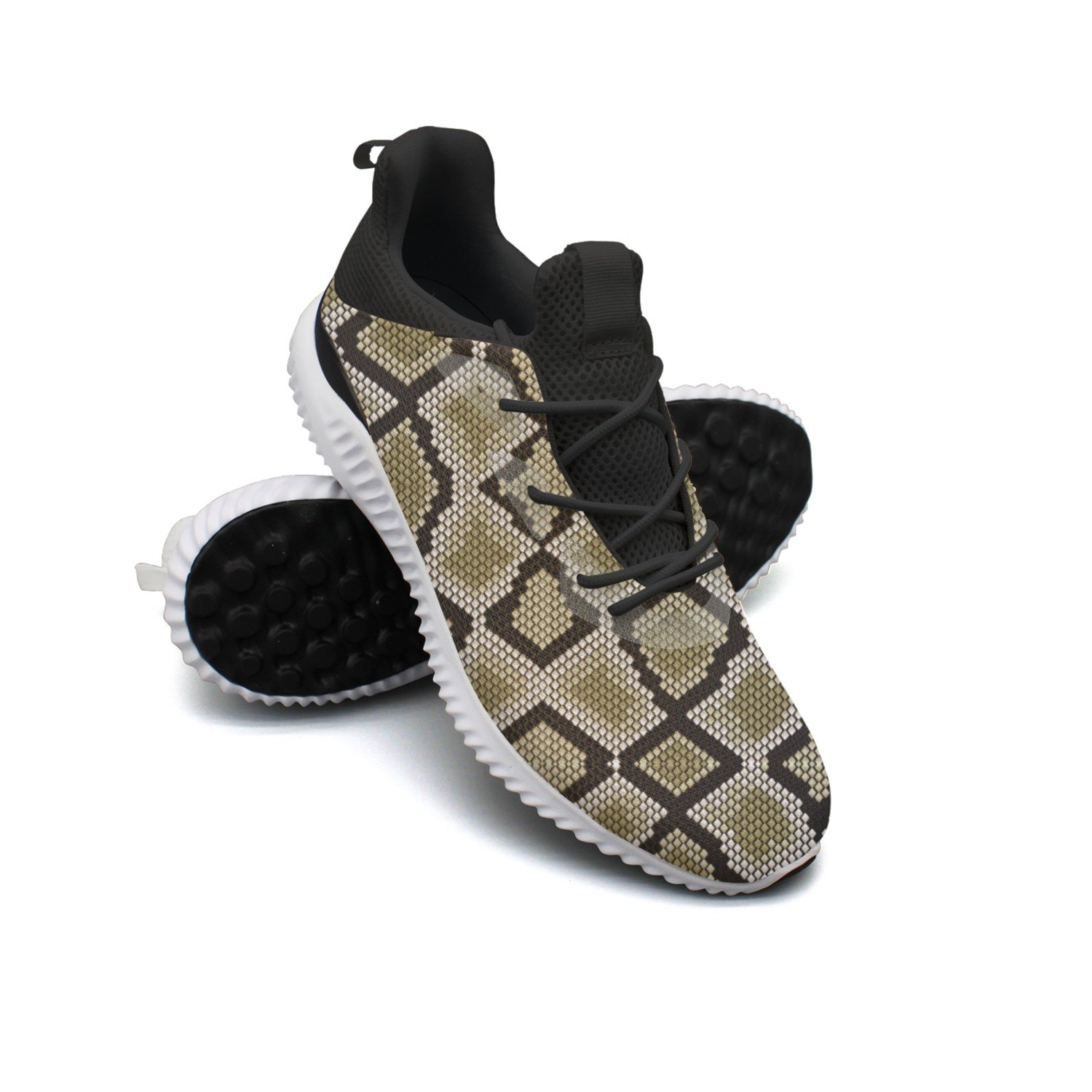 Snake Skin Care Leisure Casual Running Shoes Mens New Novelty Active
