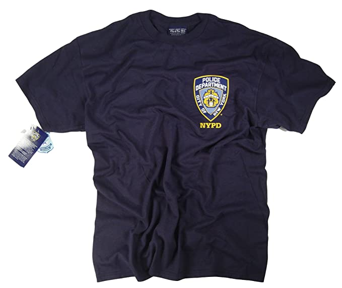 31075a97 NYPD Shirt T-Shirt Officially Licensed by The New York City Police  Department (2XL