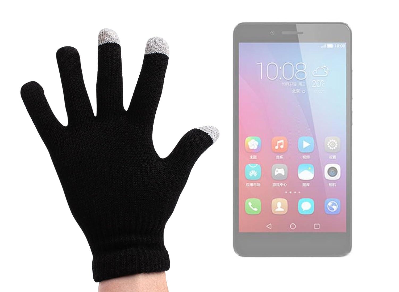 DURAGADGET Guantes Negros para Pantalla Táctil para Smartphone ...