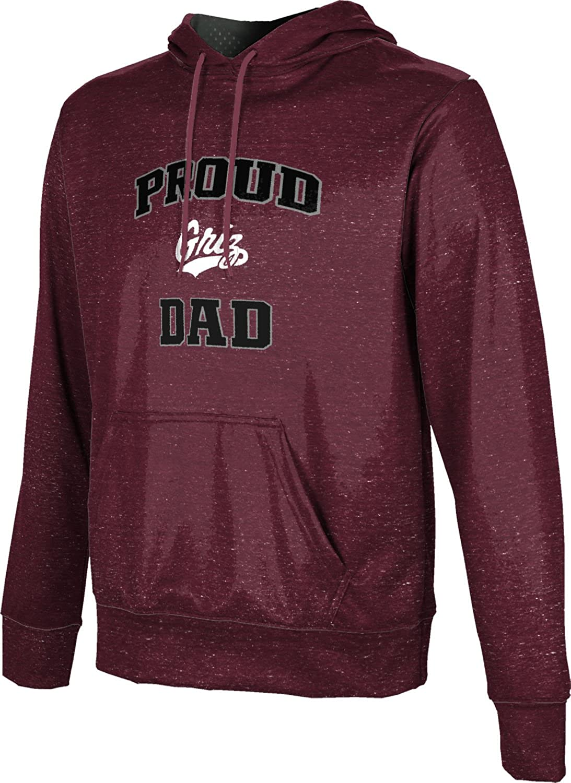 School Spirit Sweatshirt ProSphere University of Montana Fathers Day Mens Pullover Hoodie Heather