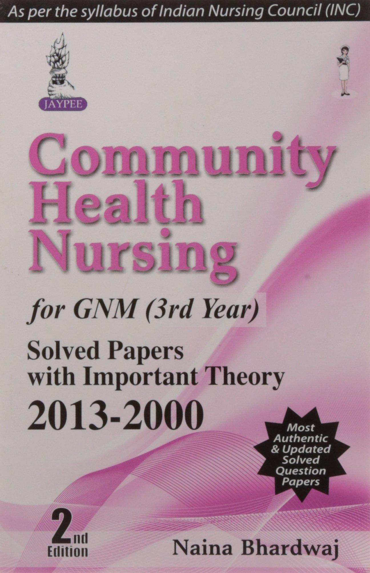 Community Health Nursing-II for Gnm (3rd Year) ebook
