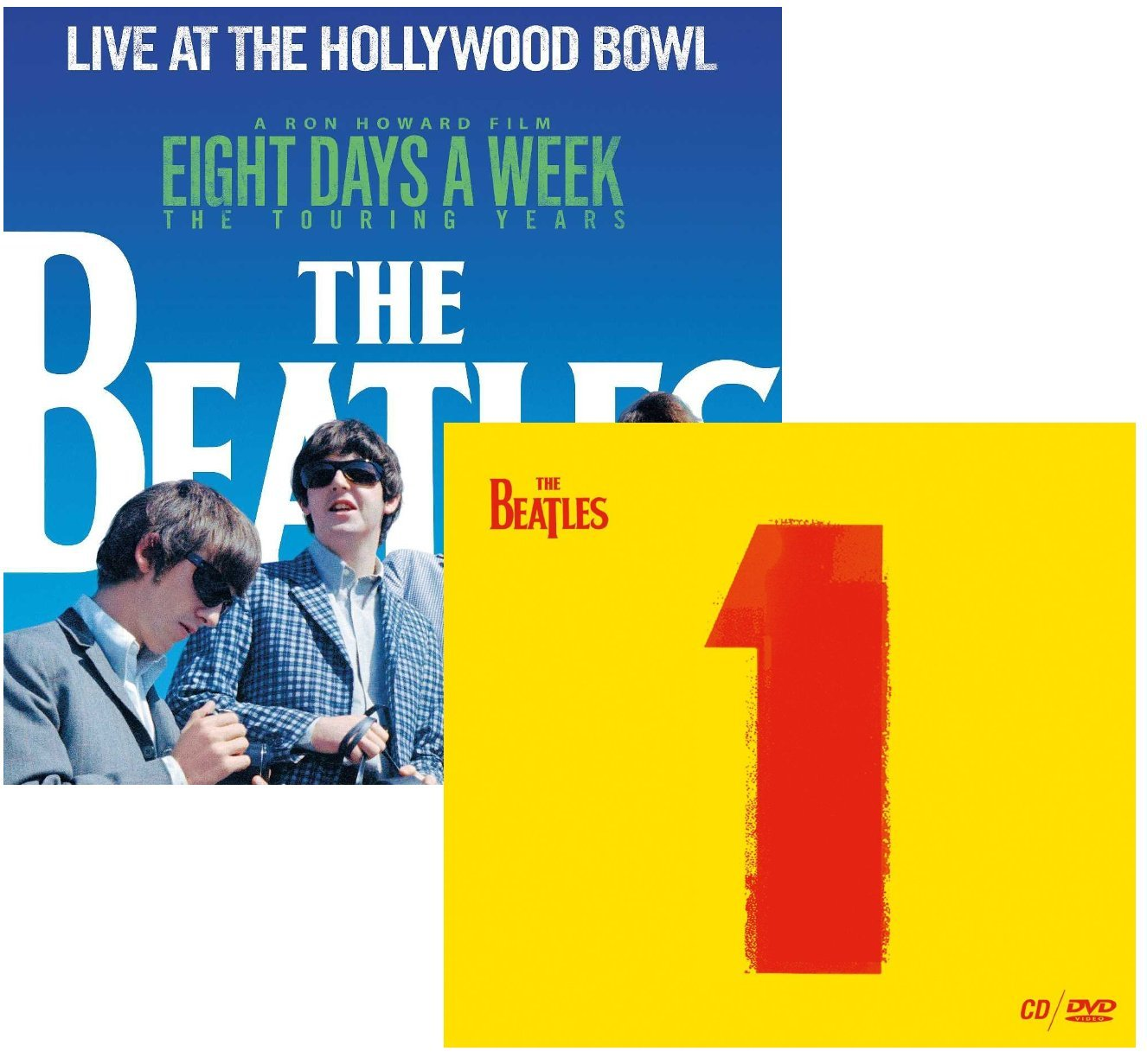Live At The Hollywood Bowl Eight Days A Week - 1 (CD + DVD) - The Beatles 2 CD Album Bundling by Various