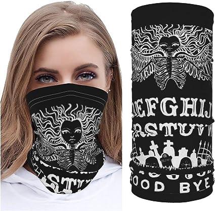 Ouija Board M_ask - Funda para cuello y máscara,
