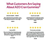 AZO Cranberry Urinary Tract Health Gummies