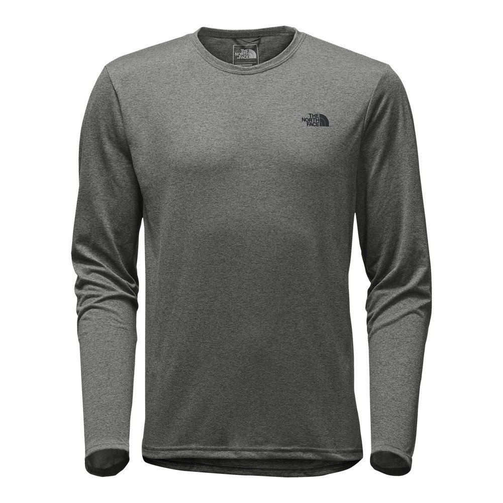ccc1e7d32 hot sale 2017 The North Face Mens Drop-tail Hem Long-sleeve T-Shirt ...
