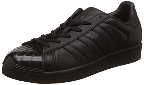 adidas Damen Superstar Glossy Toe Basketballschuhe