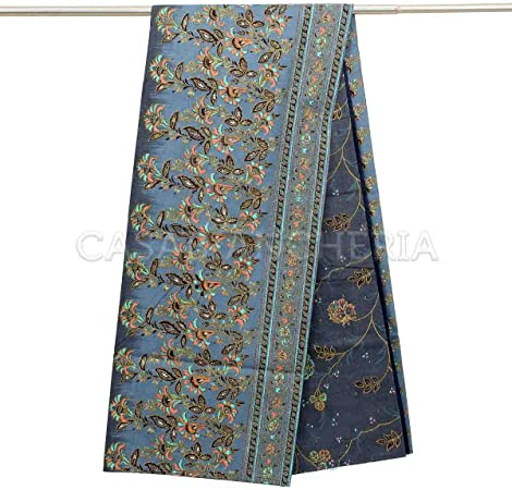 Bassetti MONTEFANO - Foulard (algodón, 350 x 270 cm), Color Gris ...