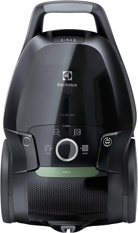Electrolux PureD9 PD91 GREEN, 300 W, 5 liters, Ebony Black